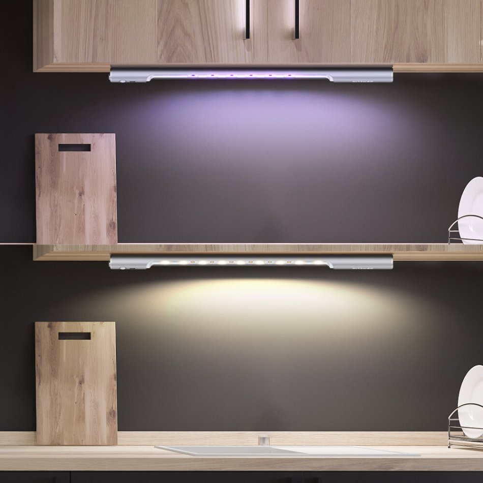 BlitzWolf® BW-FUN6 Light & PIR Sensor Type-C USB UV Cabinet Light UVC Sterilizer