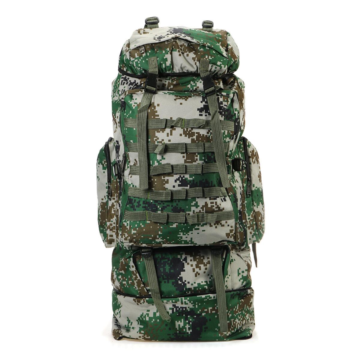 Ευρωπαϊκή αποθήκη 100L ΤΣΑΝΤΑΡΑ σε τιμή τσαντούλας | 100L Outdoor Folding Backpack Military Tactical Shoulder Bag