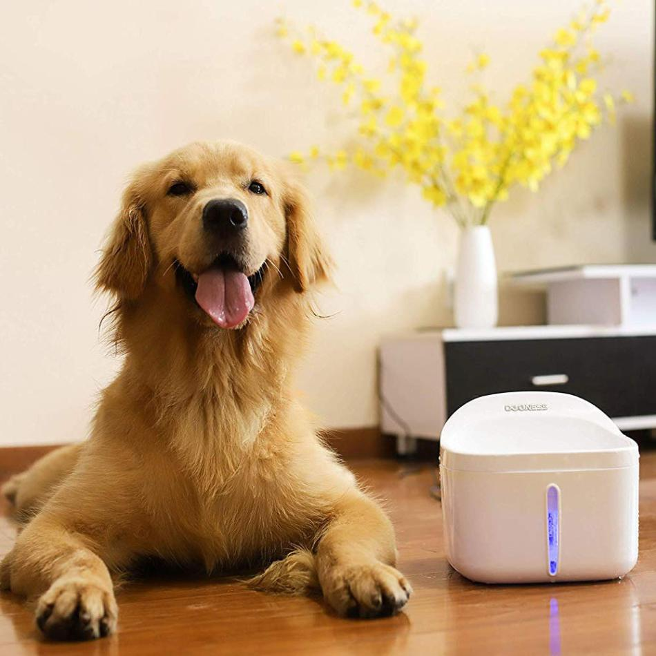 DOGNESS 2L Pet Fountain Cat Drinker Healthy Drinking Fountain Automatic Electric Water Bowl Pet Automatic Waterer