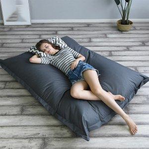Στα €22.39 από αποθήκη Τσεχίας | 140 * 180 cm XXXL Outdoor Foldable Bean Bag Coat Multicolor Waterproof Oxford Cloth Lazy Sofa