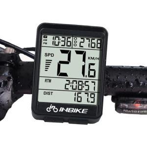 Στα 8.30€ από αποθήκη Κίνας   INBIKE IN321 Backlight Bicycle Computer Waterproof Wireless LCD Odometer Bicycle Speedometer