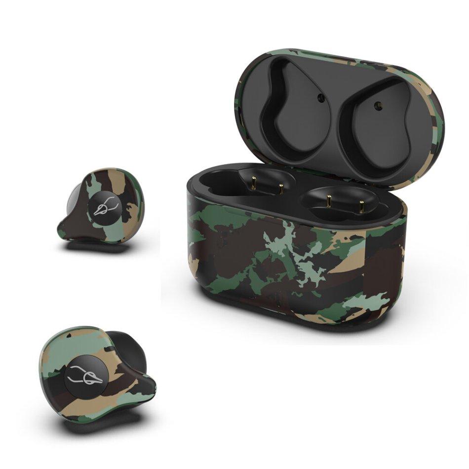Sabbat X12 Ultra TWS bluetooth 5.0 Earphone Camouflage AAC DSP CVC8.0 Noise Cancelling Bilateral Call Headphone