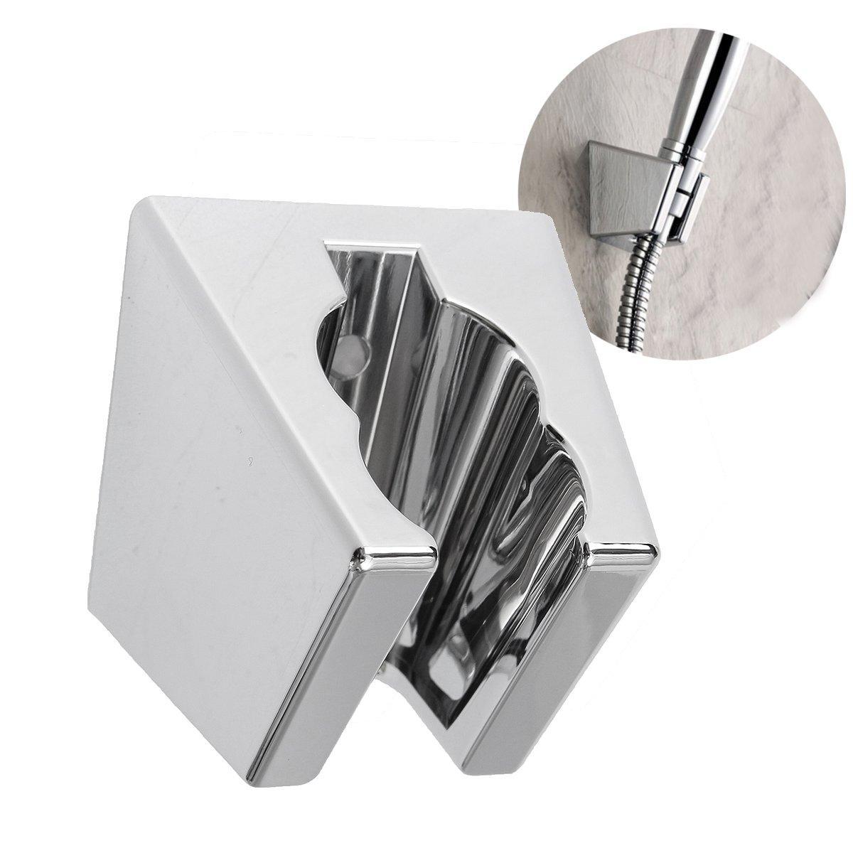 Universal Bathroom Wall Mount Shower Bracket Holder For Handheld Shower Head