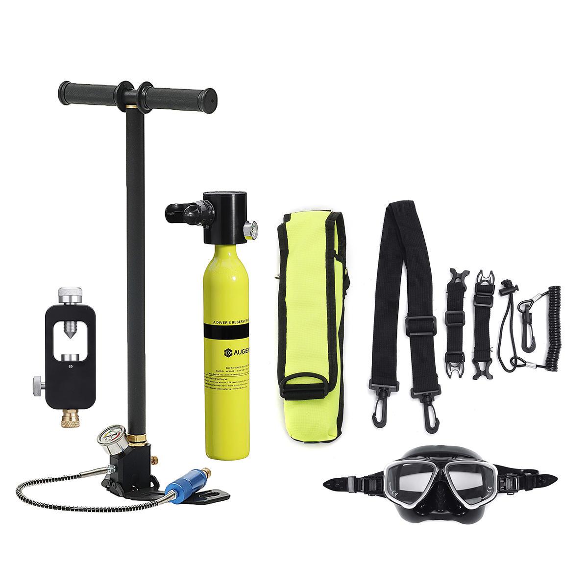 8 Pcs Diving Equipment Smaco Scuba Diving Cylinder Oxygen