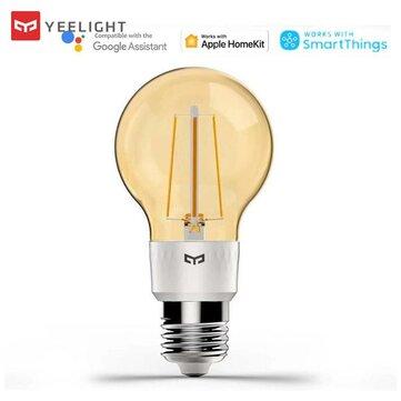 Yeelight YLDP22YL E27 6W Smart LED Filament Bulb Work with Apple Homekit 220-240V ( Ecosystem Product)
