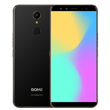 GOME U7 Mini 5.47 Inch HD+ 16MP+13MP Cameras 4GB RAM 64GB ROM Helio X20 Deca Core 4G Smartphone