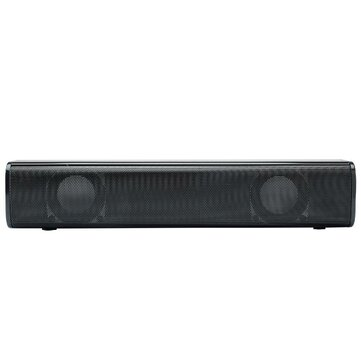 LyRay Q2 Sound Bar Wired Desktop Speaker 2.1 Audio Channel Stereo Sound Music Playback for PC Theater TV