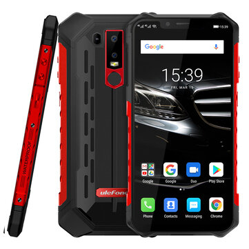 £204.42 Ulefone Armor 6E NFC IP68 IP69K Waterproof 6.2 inch 4GB 64GB Helio P70 Octa core 4G Smartphone Smartphones from Mobile Phones & Accessories on banggood.com
