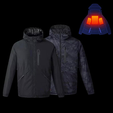 Uleemark 3.0 Smart Heating Down Jacket From Xiaomi Youpin Automatic Heating Waterproof Goose Feather 2-Size Style
