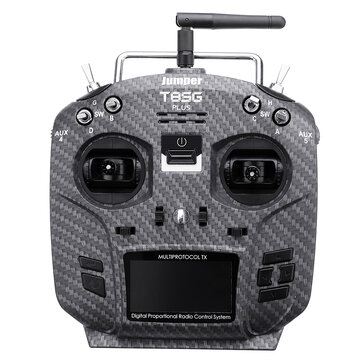 Jumper T8SG Plus V3 Carbon Special Edition Hall Gimbal Multi-protocol Advanced Transmitter for Flysky Frsky FPV RC Airplane Parts