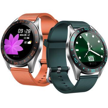 Ευρωπαϊκή αποθήκη σε τιμή χώμα | Bakeey GT105 1.22inch Fashion UI Heart Rate Blood Pressure Monitor Weather Forecast Smart Watch
