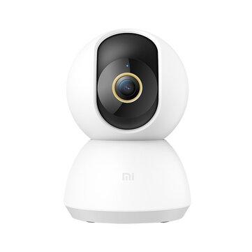 Xiaomi Mijia 1296P 2K 3 Megapixels F1.4 360° PTZ Smart IP Camera AI Human Detection HD Night Vision Security Monitor