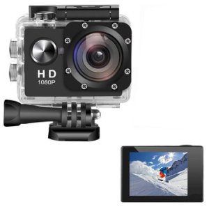 Στα 8.45 € από αποθήκη Κίνας | AUGIENB 2 Inches 4K HD 1080P Screen 300,000Pixels Sport Camera Underwater 30m Action DVR Camcorder Waterproof Hunting Camera