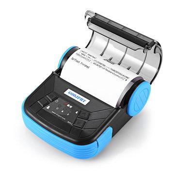 GOOJPRT MTP-3 Portable 80mm bluetooth Thermal Label Printer Support Android POS Multi-language Printing Machine