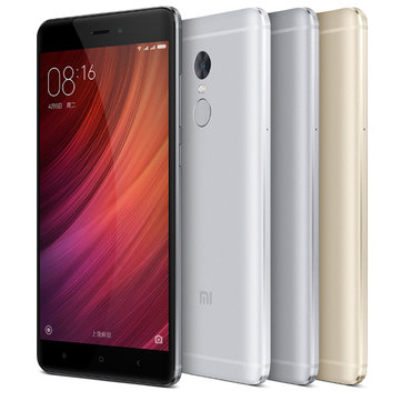 Xiaomi Redmi Note 4 Fingerprint 5.5-inch 3GB RAM 64GB MTK X20 Deca-core 4G Smartphone