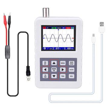 DANIU ADS2031H Handheld Oscilloscope 2.4 Inch LCD Screen 30MHz Bandwidth 200M Sampling Rate