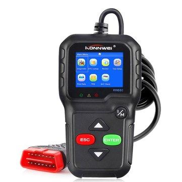KONNWEI KW680 OBD2 Code Reader Universal Car Diagnostic Scanner Tool Full OBDII EOBD Functions