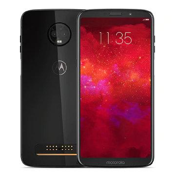 Lenovo Moto Z3 6.01 Inch NFC Fingerprint 6GB RAM 128GB ROM Snapdragon 835 Octa core 4G Smartphone
