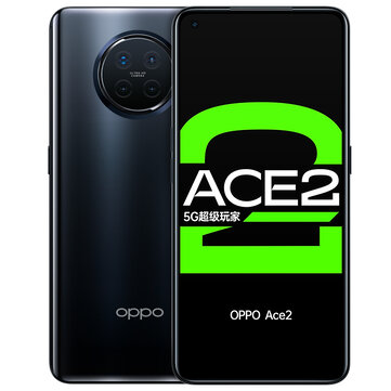 OPPO Ace2 5G CN Version 6.55 inch FHD+ 90Hz Refresh Rate NFC Android 10 65W SuperVOOC 12GB 256GB Snapdragon 865 Gaming Smartphone Smartphones from Mobile Phones & Accessories on banggood.com