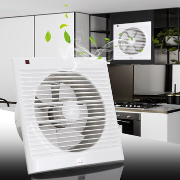 4 6 8 waterproof mute bathroom extractor exhaust fan window for kitchen toilet ventilation fans