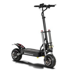 Αποθήκη Κίνας | BOYUEDA 28.6AH 60V 5400W Dual Motor Folding Electric Scooter 11inch 85km/h Top Speed 110-130km Mileage Range Max Load 400kg