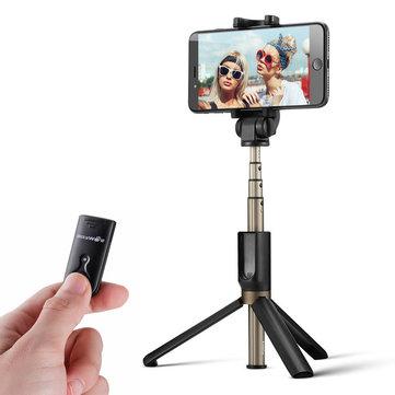 BlitzWolf BW-BS3 Versatile 3 in 1 Bluetooth Tripod Selfie Sticks