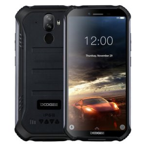 DOOGEE S40 lite 5.5 inch HD IP68 Waterdrop Android 9.0 4650mAh Face Unlock 2GB RAM 16GB ROM MT6580 Quad Core 3G Smartphone
