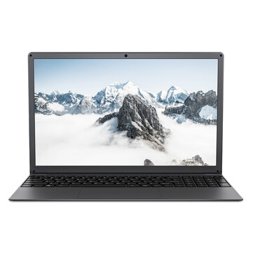 BMAX S15 Laptop 15.6 inch Intel Gemini Lake N4100 Intel UHD Graphics 600 8GB LPDDR4 RAM 128GB SSD 178° Viewing Angle Narrow Bezel Notebook
