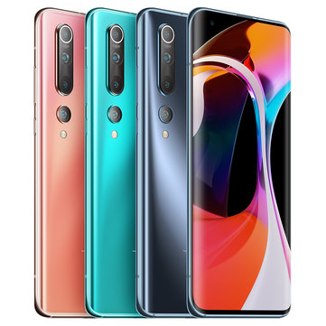 Xiaomi Mi 10 5G CN Version 108MP Quad Camera 8K Video Recording 12GB 256GB 6.67 inch 90Hz Fluid AMOLED Display 4780mAh 30W Fast Charge Wireless Charge WiFi 6 NFC Snapdragon 865 Octa core 5G SmartphoneSmartphonesfromMobile Phones & Accessorieson banggood.com