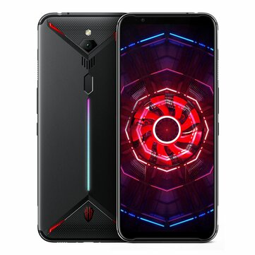ZTE Nubia Red Magic 3 Global Version 6.65 Inch FHD+ 5000mAh Android 9.0 48.0MP Rear Camera 8GB RAM 128GB ROM Snapdragon 855 Octa Core 4G Gaming Smartphone