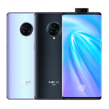 VIVO NEX 3 5G Version 6.89 inch Super AMOLED 64MP Triple Rear Camera 8GB 256GB Snapdragon 855 Plus Octa core 5G Smartphone Smartphones from Mobile Phones & Accessories on banggood.com