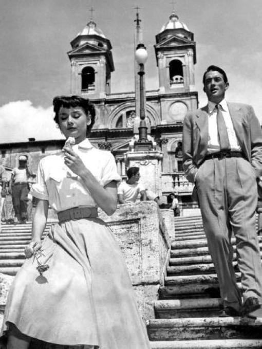 Image of 1953 film Roman Holiday