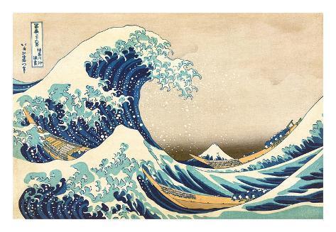 The Great Wave off Kanagawa - Hokusai ile ilgili görsel sonucu
