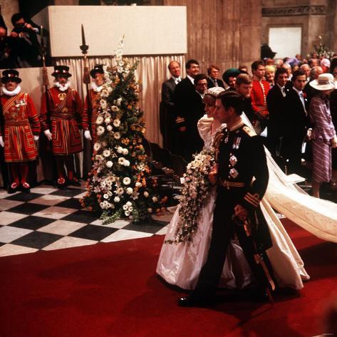Royal Wedding of Prince Charles and Lady Diana Spencer at ...