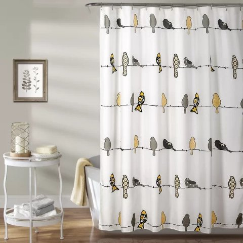 wayfair shower curtains on sale up to