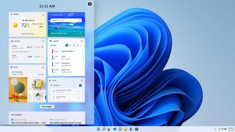 windows 11, widgets,.