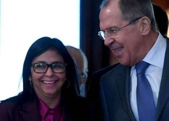 Resultado de imagen para Arreaza y Lavrov