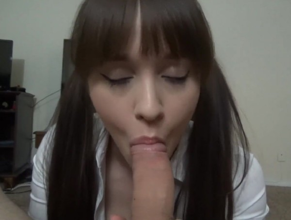 Dildotbaggins93 – School Girl Sucks Dick instead of doing Homework (2018/PornHub.com/FullHD)