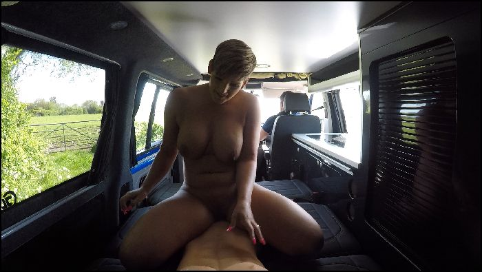 (1$ vid) HannahBrooks – RIDING COCK IN THE BACK OF MY CAMPERVAN (manyvids)