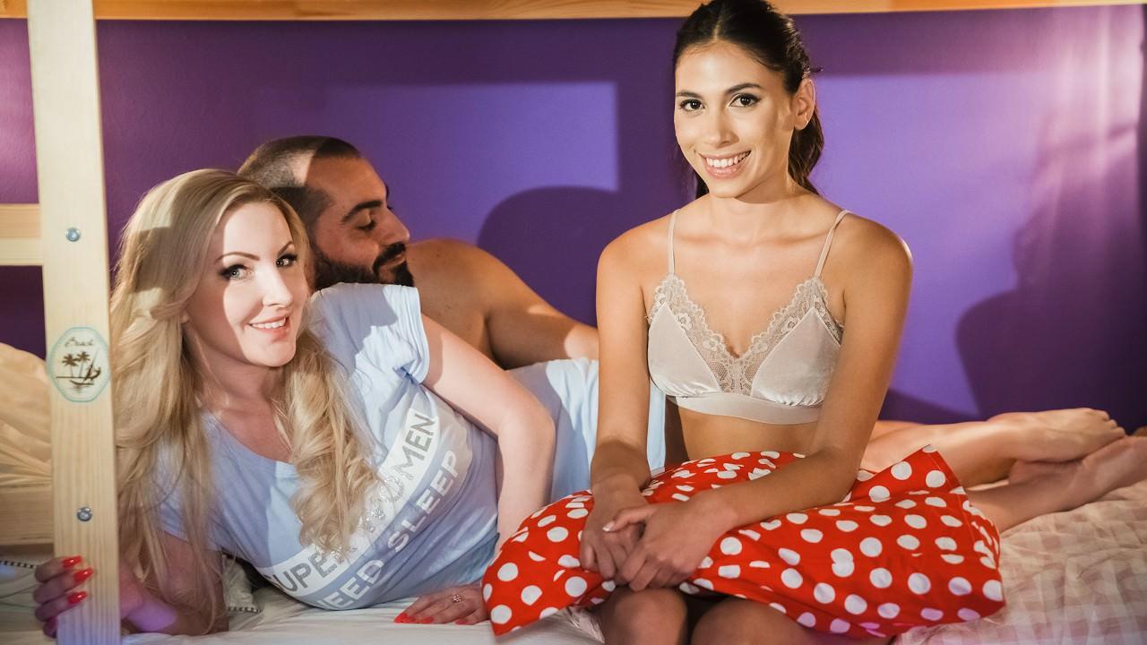 Georgie Lyall, Baby Nichols – Latina Au Pair Joins Older Couple (MomXXX/SexyHub/2019/1080p)