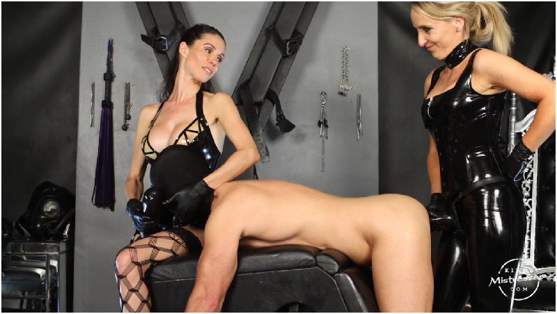 Double Strap-on Fuck With Courtney