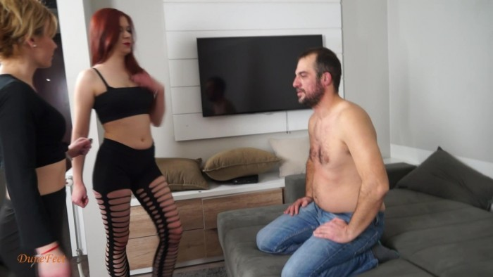 Dunefeet – the new challenge 8 starring meg and bea [face slapping,