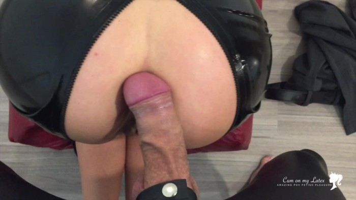 Perfect ASS in Latex Outfit #3 PUSSY and CUMSHOT – Latex Mistress