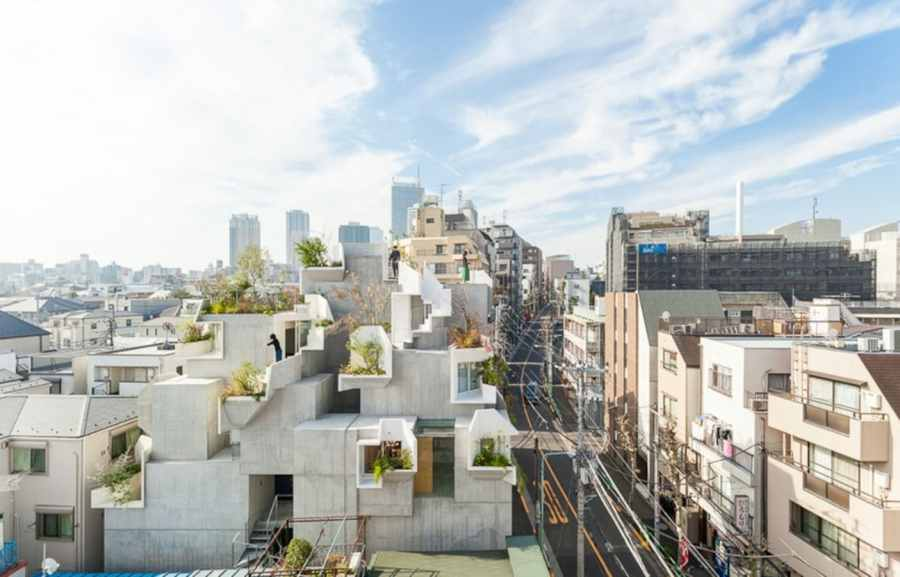 Architect Designs  Tree House  in Tokyo   All About Japan Architect Designs  Tree House