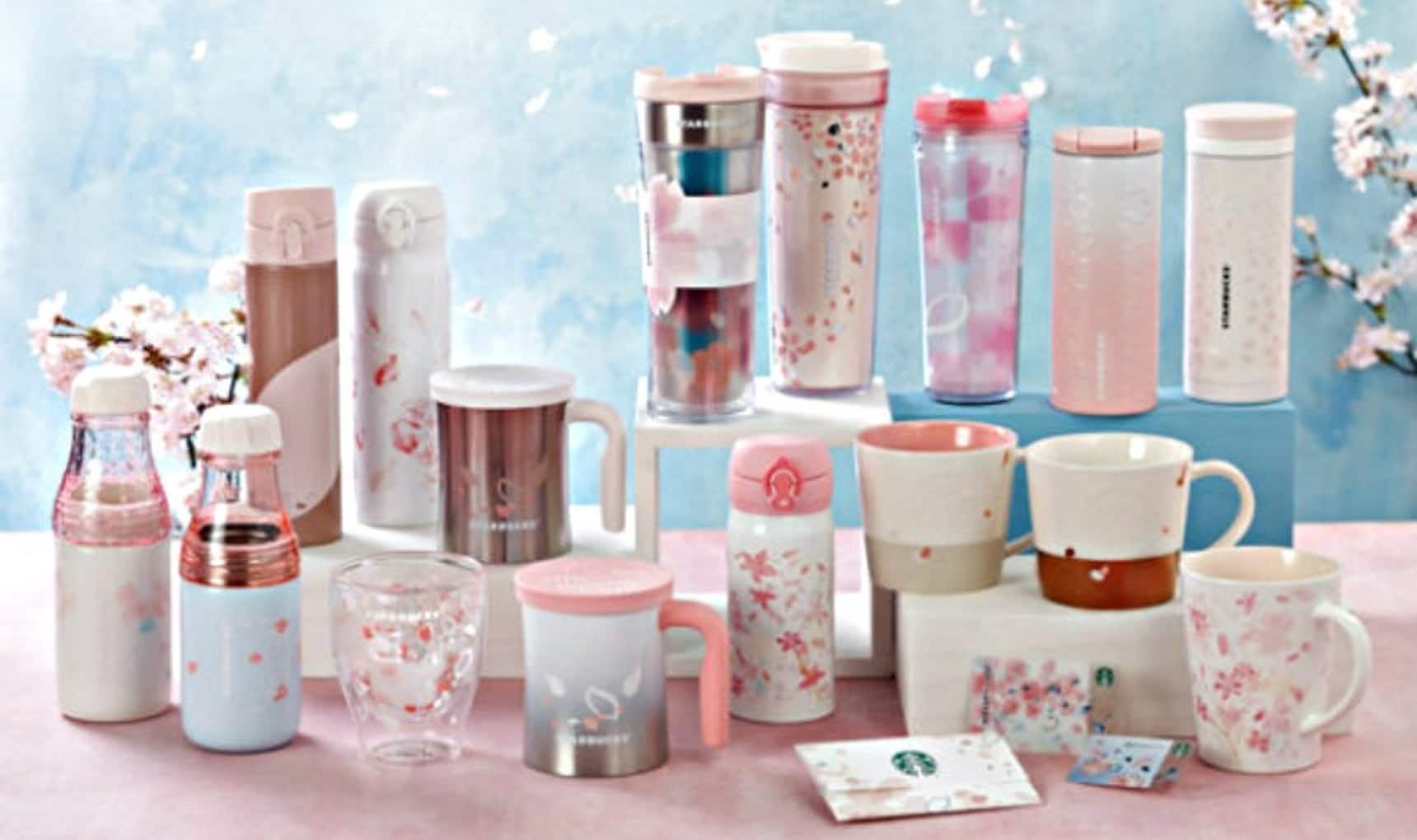 Sakura Themed Drinks Amp Merchandise Galore All About Japan