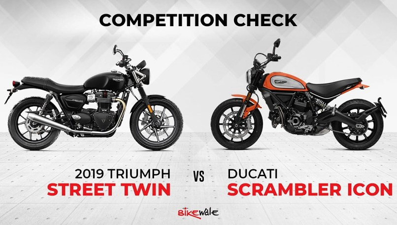 2019 Triumph Street Twin Competition