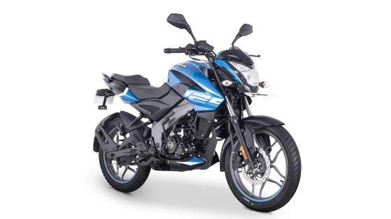 Bajaj Pulsar NS125 was offered in four color schemes