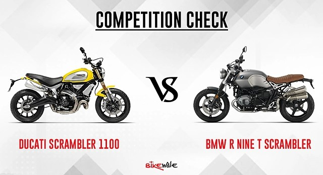 Ducati Scrambler 1100 Vs Bmw R Nine T