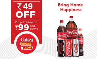 coke2home Rs 49 Off