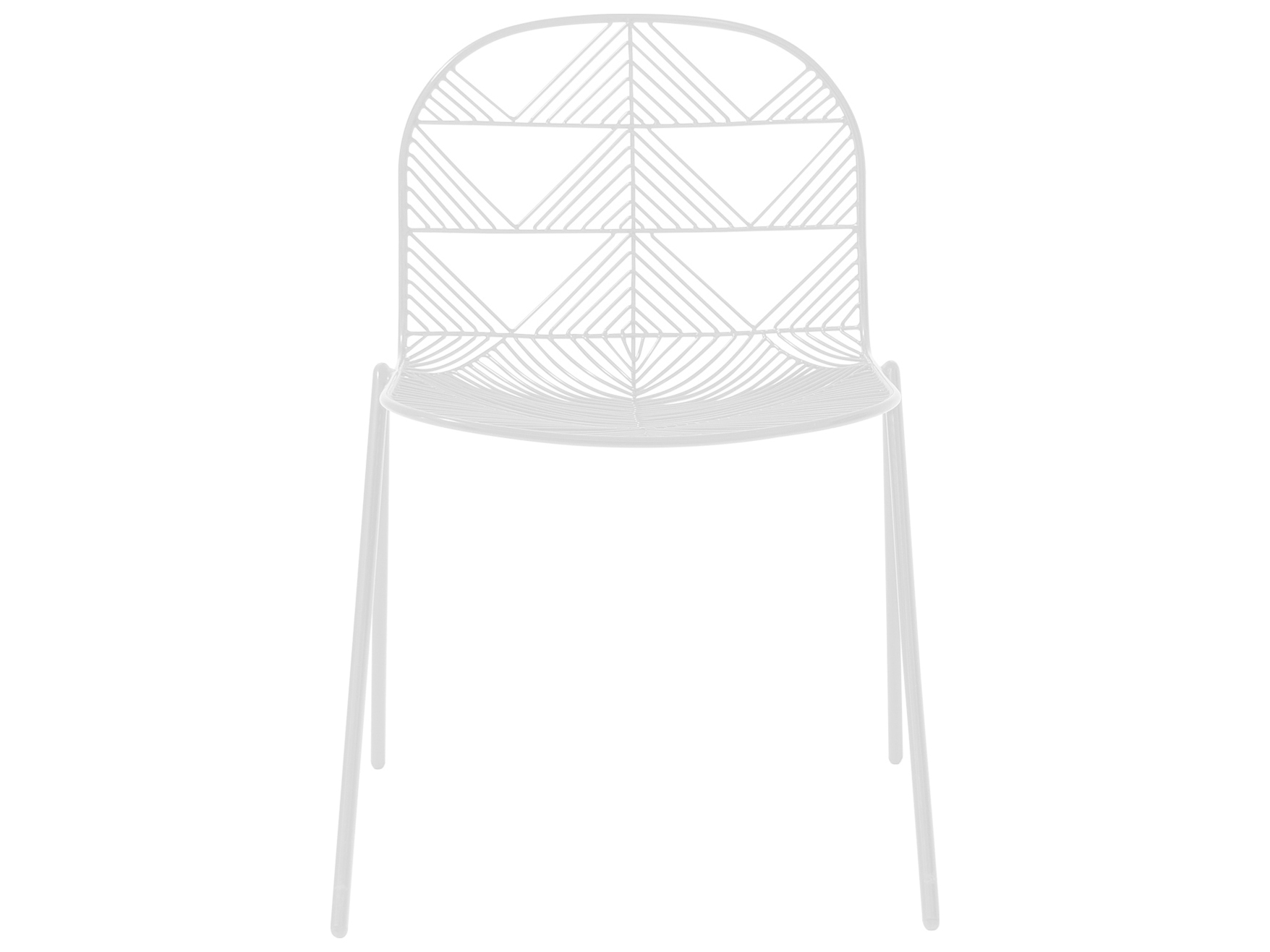 Bend Goods Outdoor Betty White Metal Dining Chair Sold In